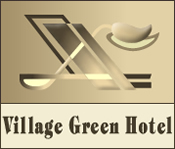 village green hotel in vernon logo, Vernon, BC
